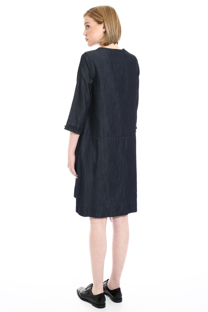 Short denim dress Intrend