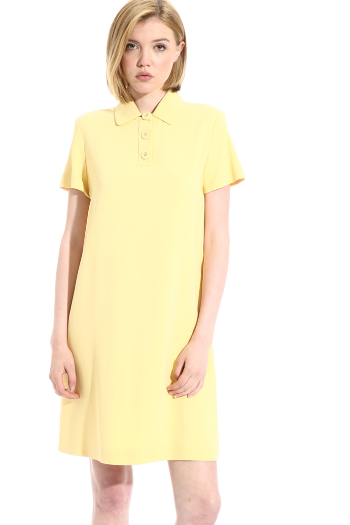 Viscose Polo dress Intrend