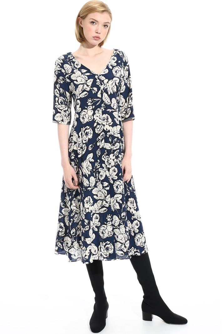 Silk midi dress Intrend