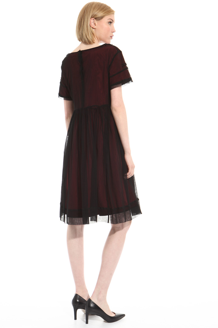 Jersey and tulle dress Intrend