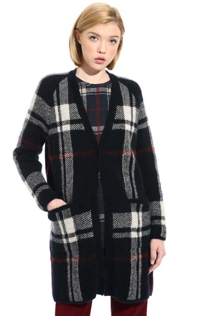 Mohair and silk cardigan Intrend