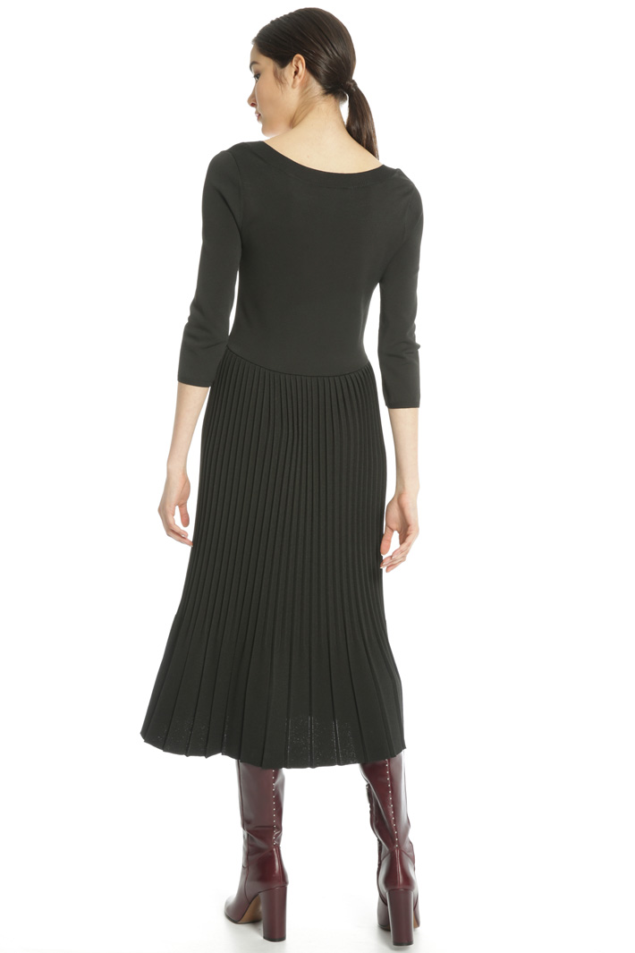 Knitted viscose dress Intrend