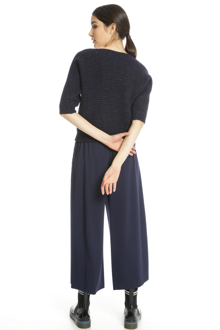 Boxy-fit  ribbed sweater Intrend