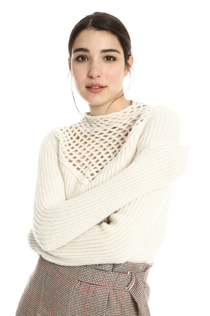 Lurex wool sweater Intrend
