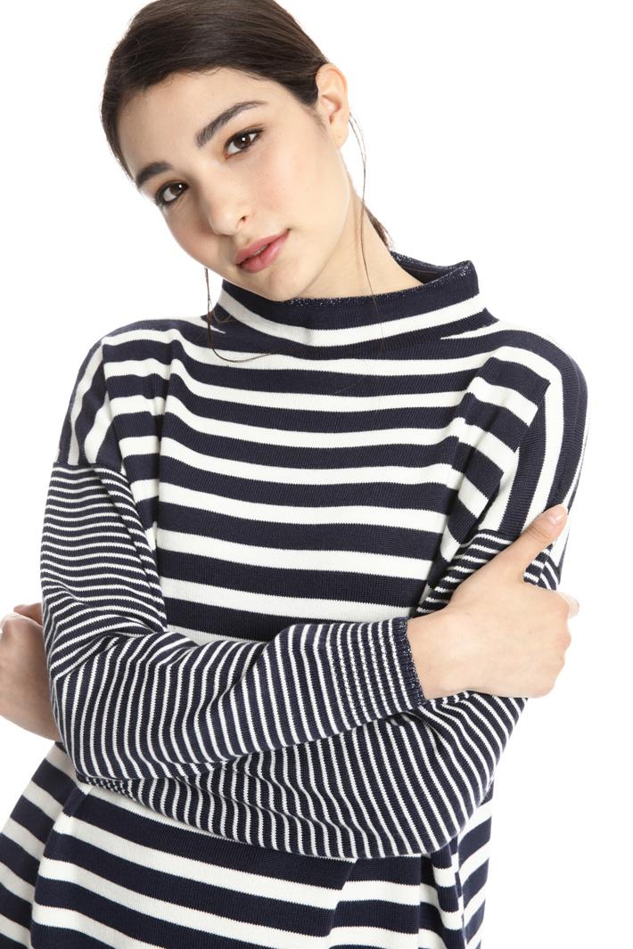 Wool blend yarn sweater Intrend
