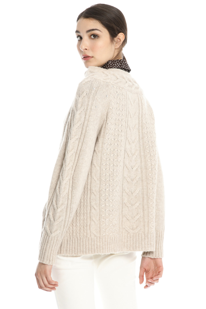 Wool and alpaca sweater Intrend