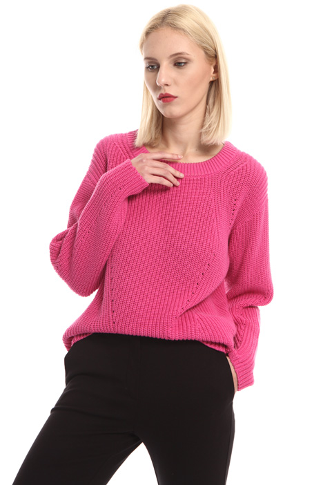 Cotton yarn sweater Intrend