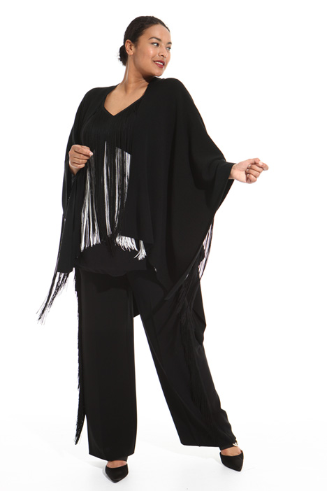 Fringed cape Intrend