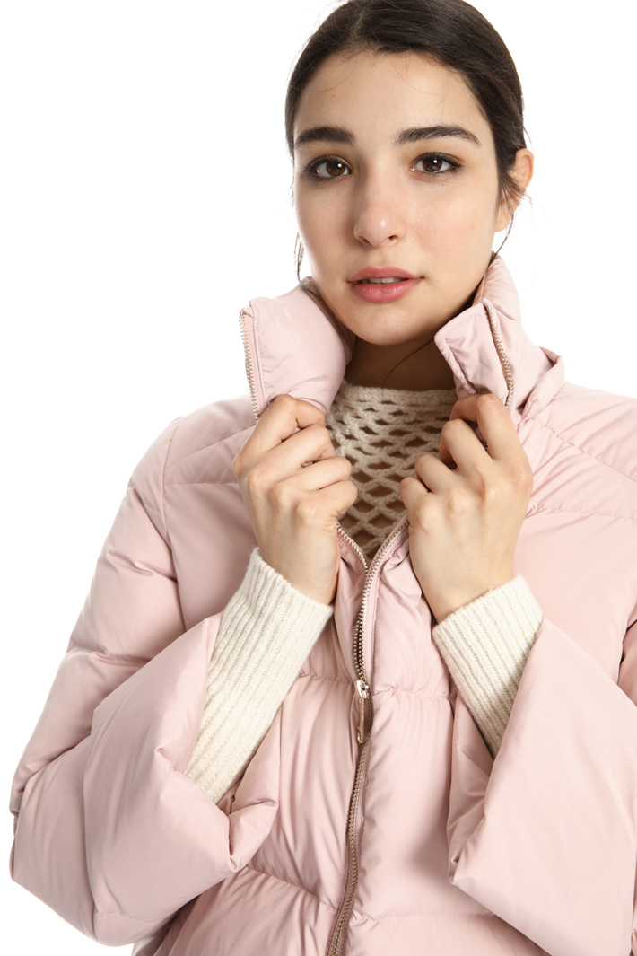 Technical fabric down jacket Intrend