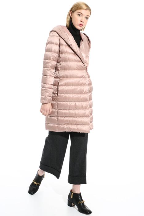 Reversible wrap down coat Intrend