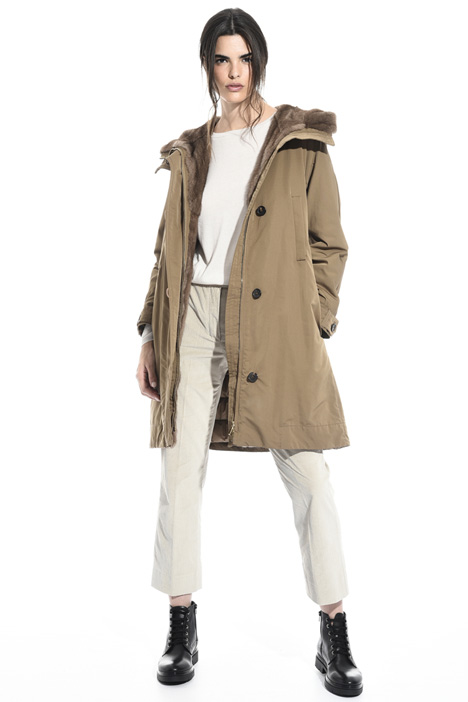 Flared parka coat Intrend