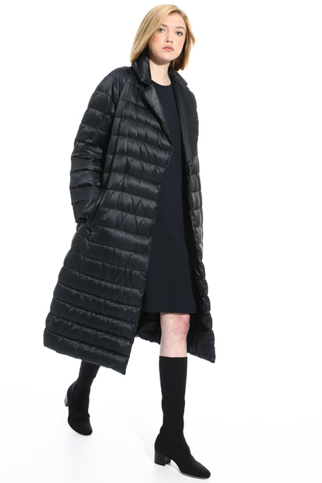 Long reversible down coat Intrend