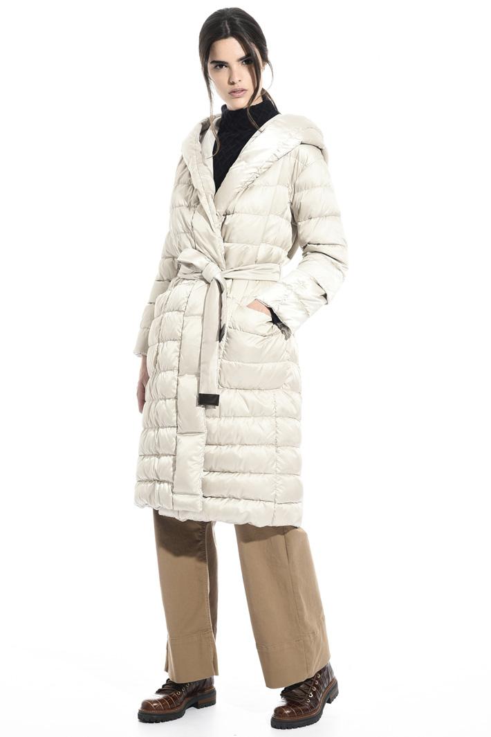 Reversible wrap coat Intrend
