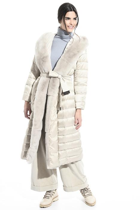 Wrap down coat Intrend