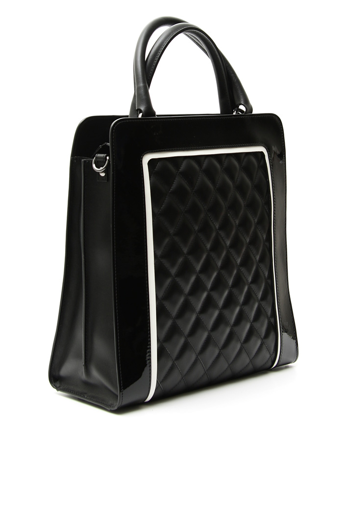Nappa and coated bag Intrend
