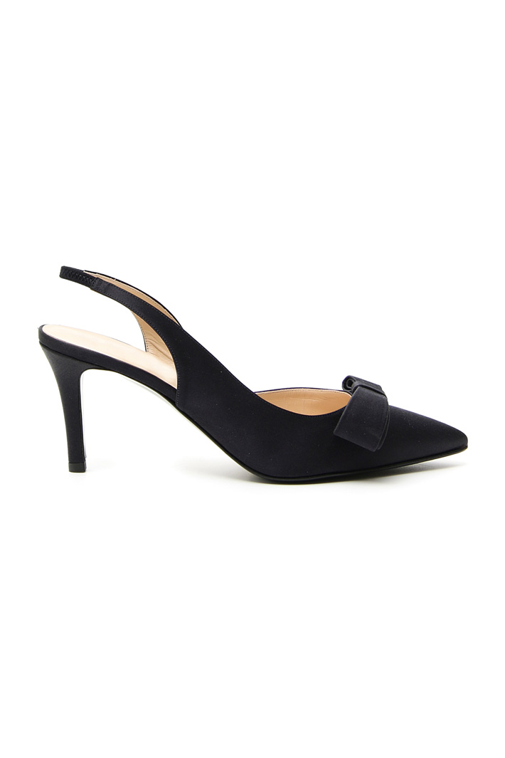 Satin slingback shoes Intrend