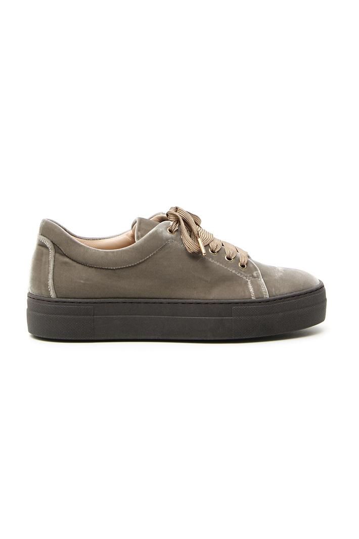 Velvet sneakers Intrend