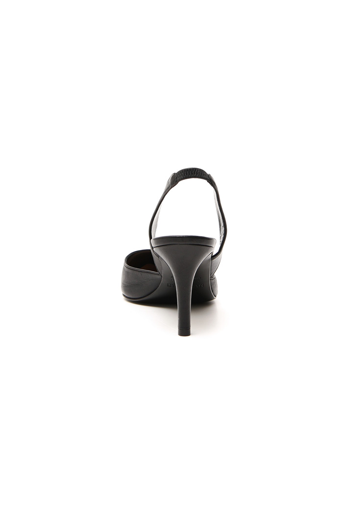 Real leather slingback shoes Intrend