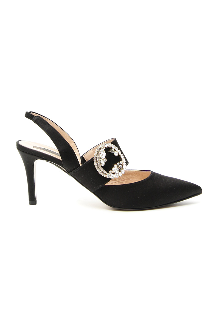Slingback with jewel buckle  Intrend