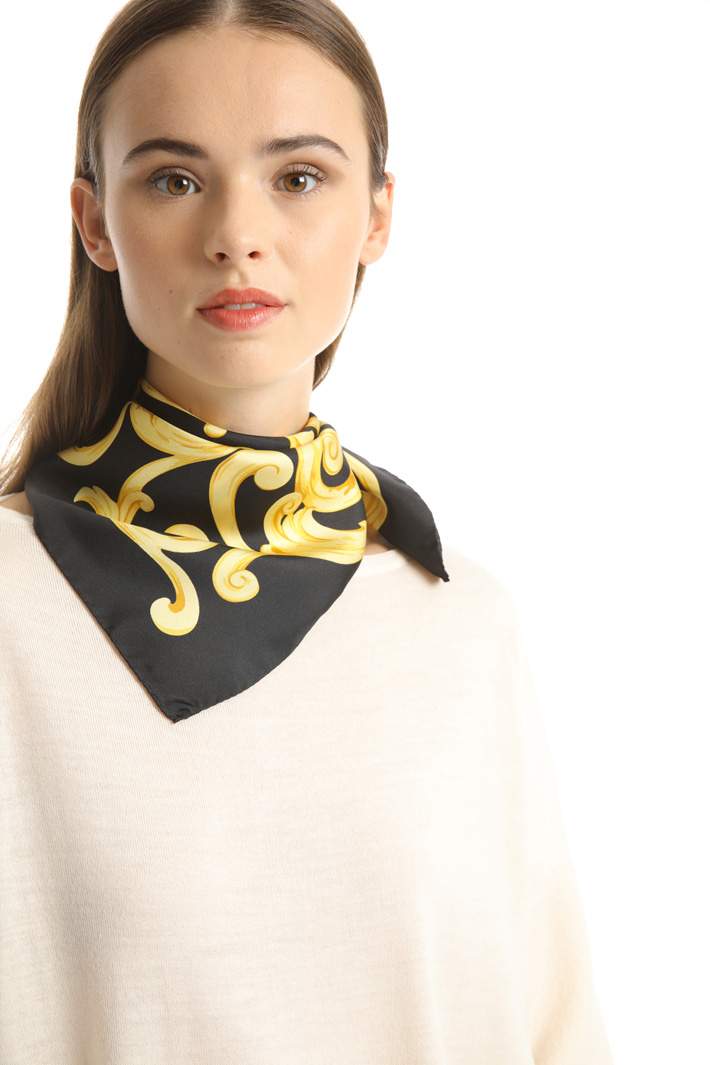 Pure silk foulard Intrend