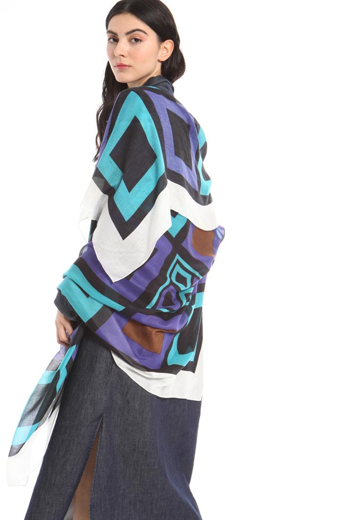 Soft gauze foulard Intrend