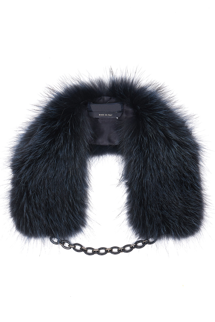 Fur collar Intrend