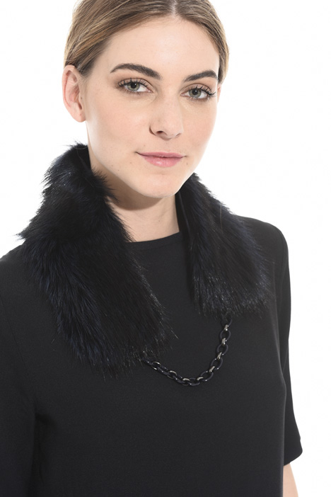 Fur collar Intrend