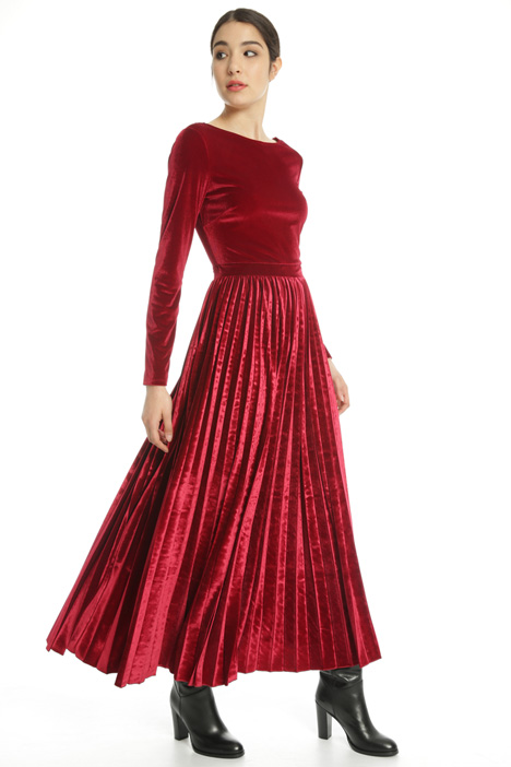 Long chenille dress Intrend