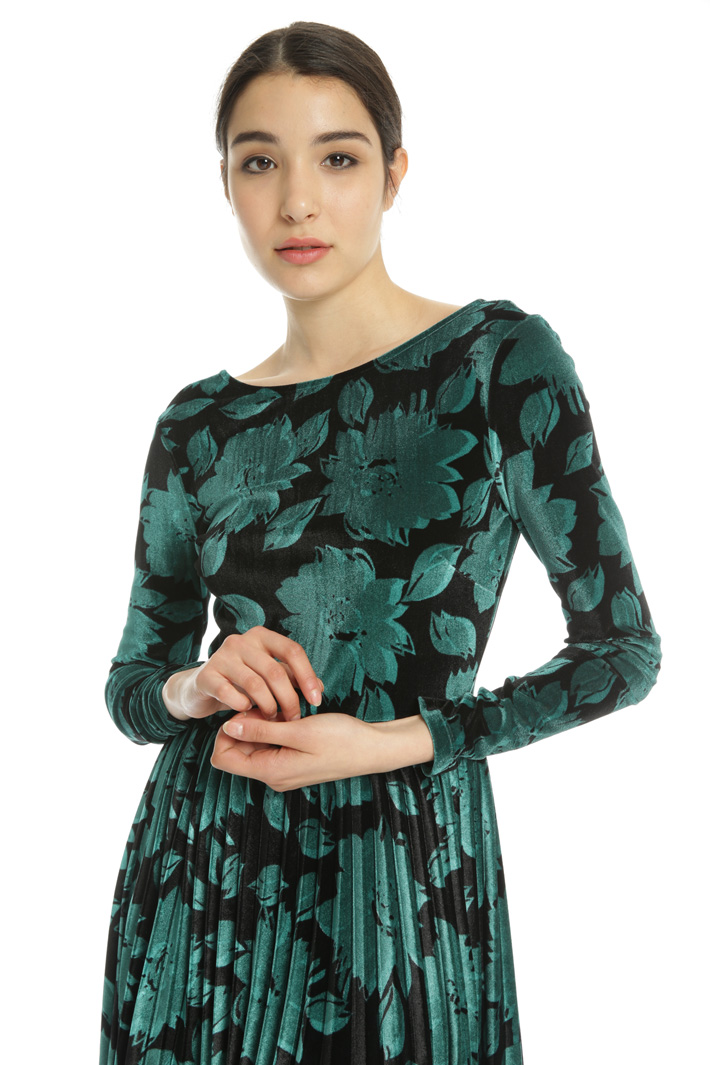 Chenille jersey dress Intrend