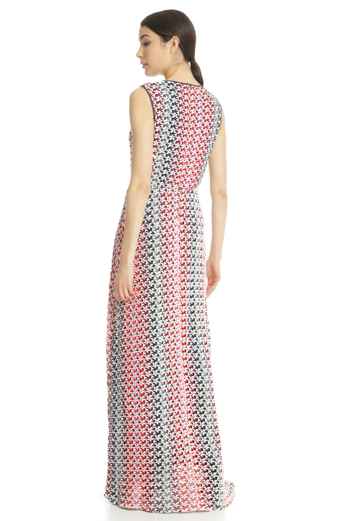 Macramé jersey dress Intrend