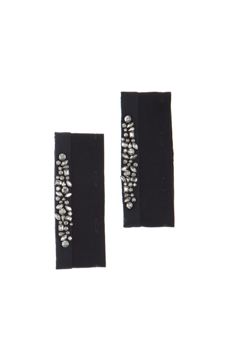 Silk and cotton cuffs Intrend