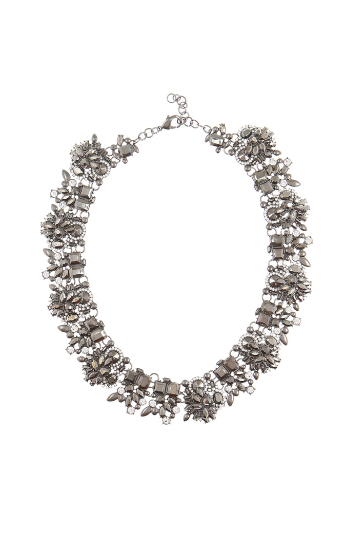 Necklace collar with stones Intrend
