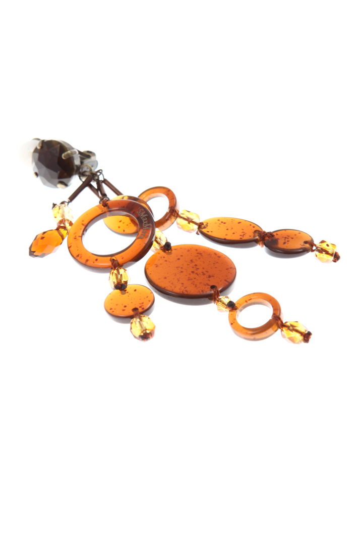Drop earrings in resin  Intrend