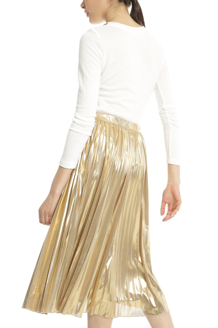 Lamé jersey skirt Intrend