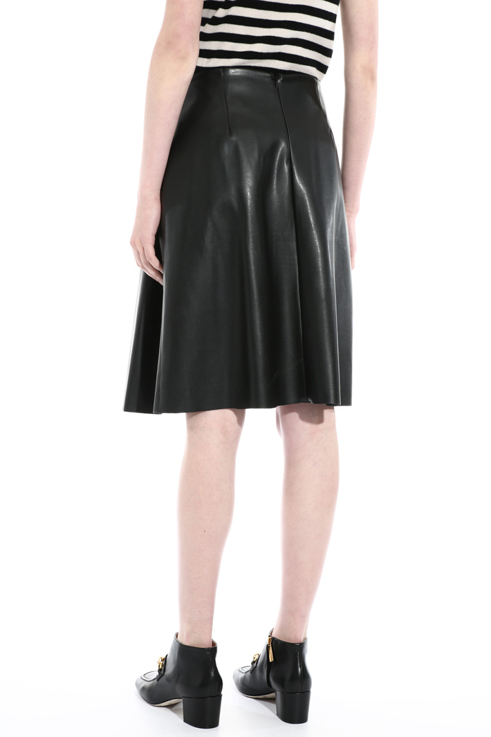 Faux-leather skirt Intrend
