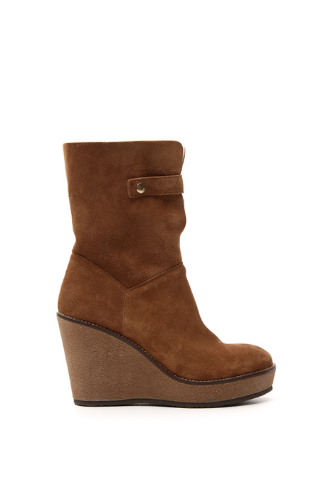 Leather ankle-boots Intrend