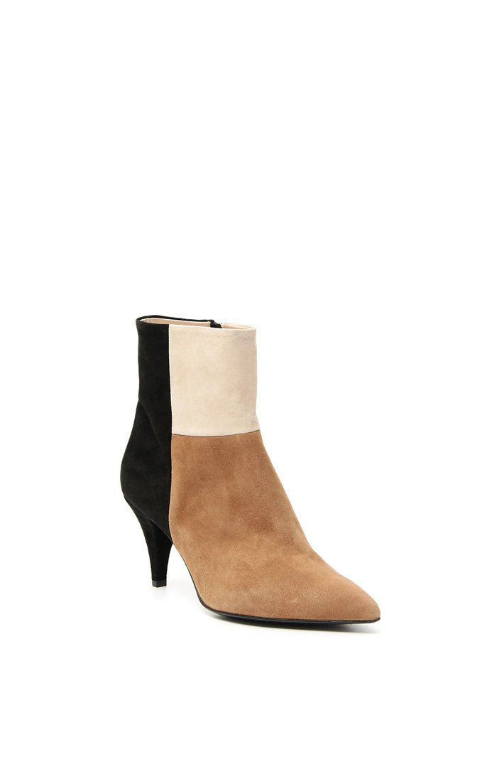 Color-block ankle-boots Intrend