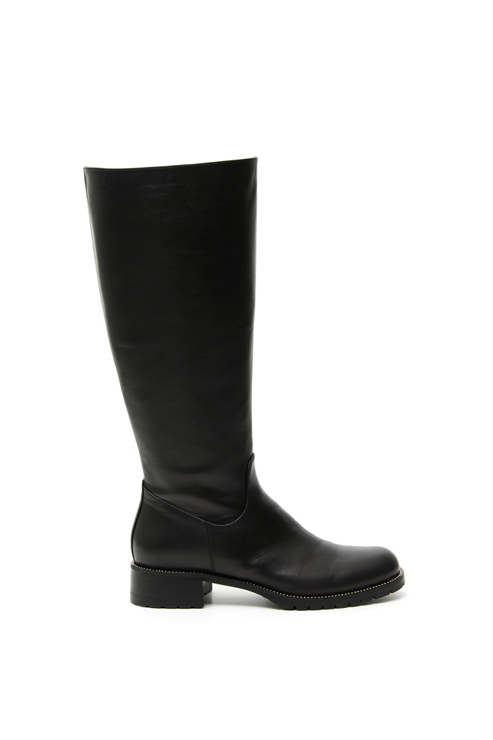 Studded boots Intrend