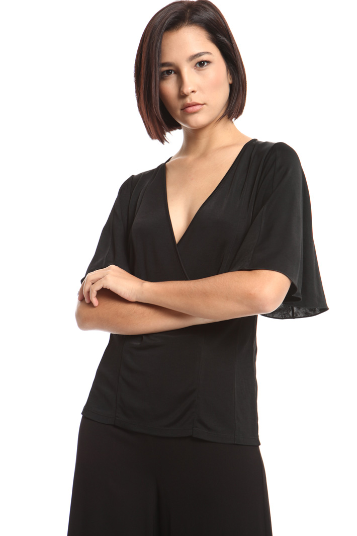 Interlock jersey top Intrend