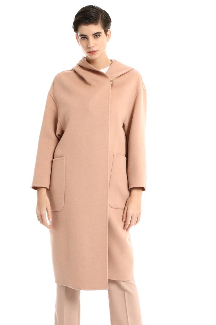 Pure camel coat Intrend