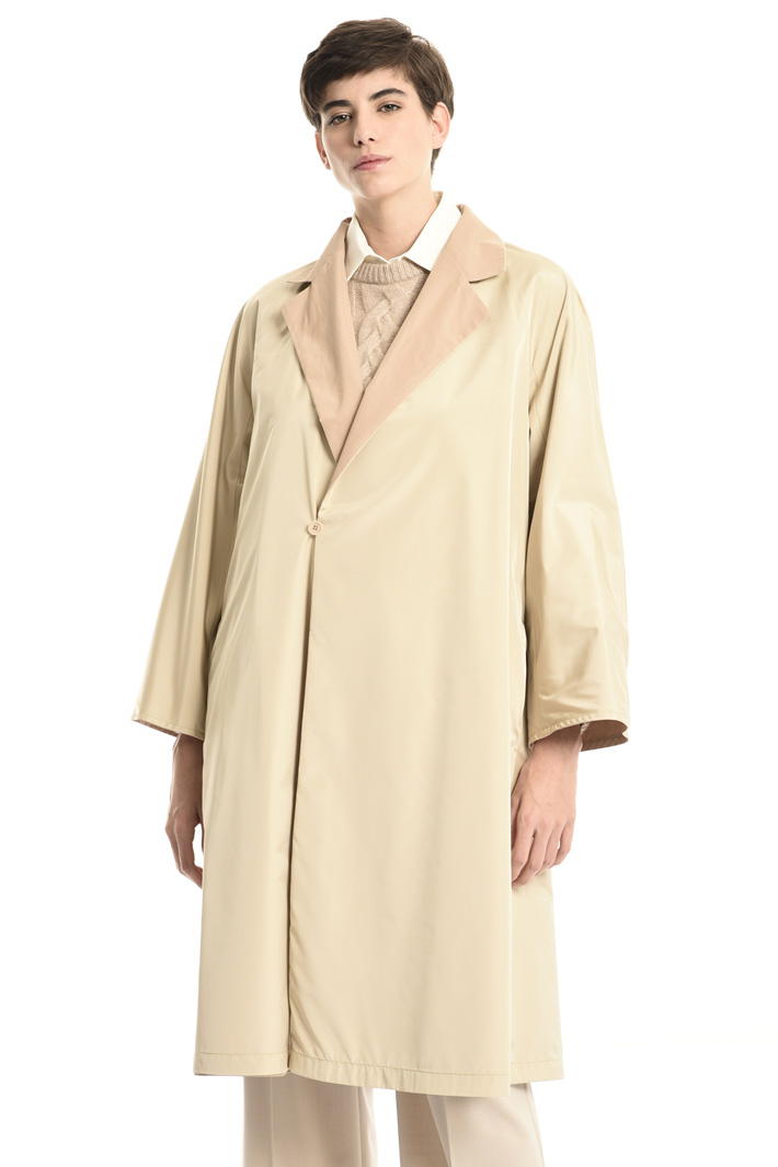 Cotton faille trench Intrend