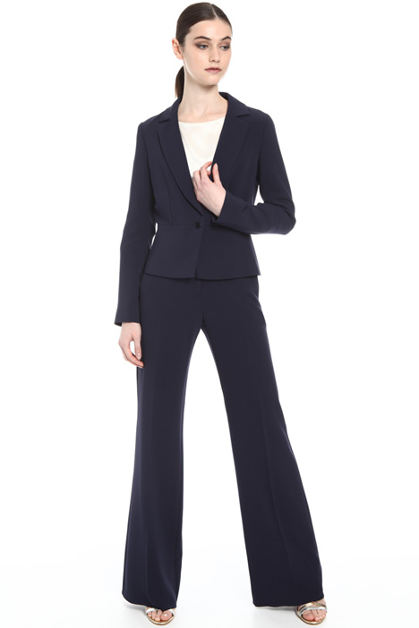 One pocket fluid crepe blazer Intrend