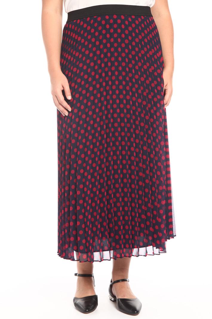 Printed georgette skirt Intrend