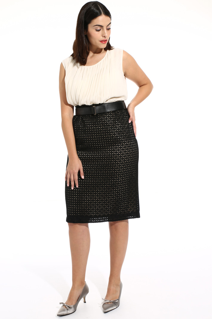 Macrame lace skirt Intrend