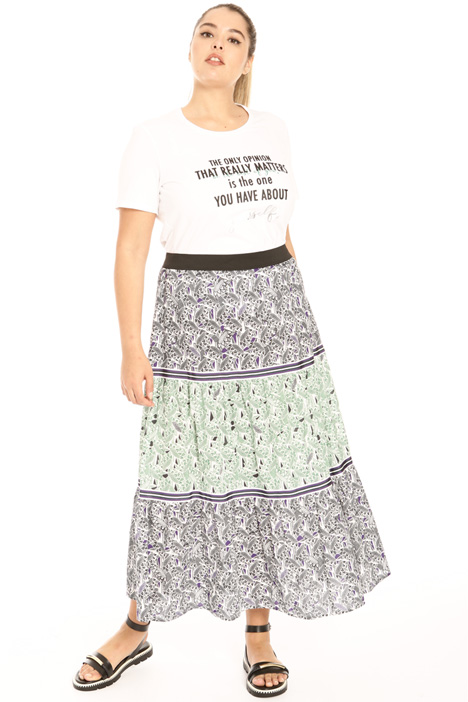 Cotton muslin skirt Intrend