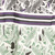 WHITE GREEN PURPLE BLACK