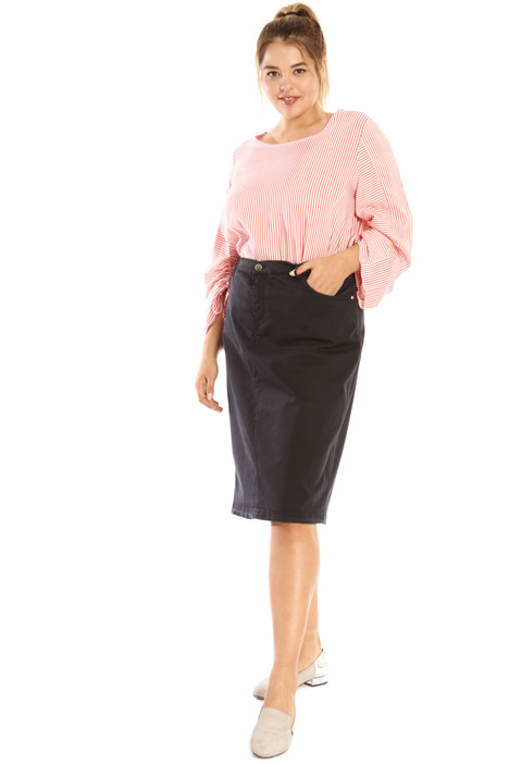 Cotton midi skirt Intrend