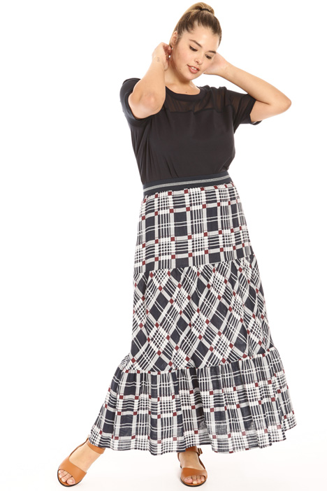 Printed linen skirt Intrend