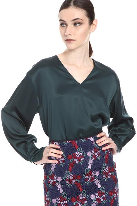 Envers satin blouse Intrend