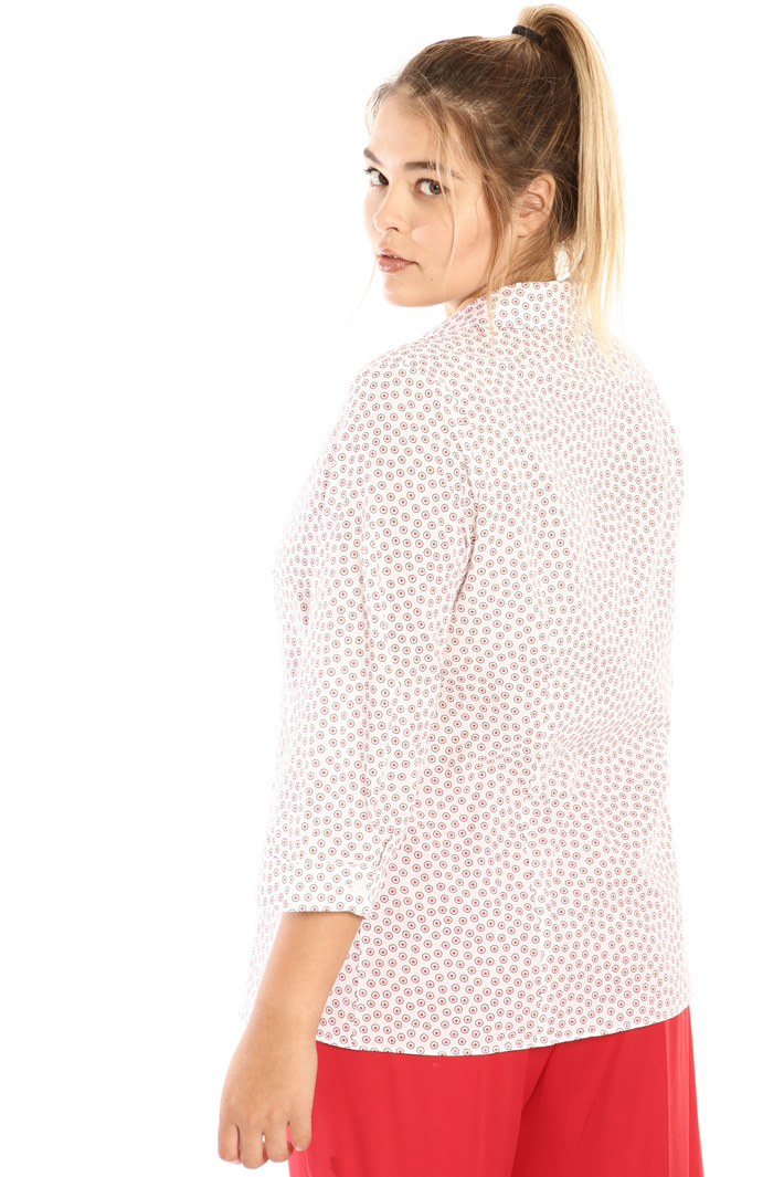 Flared cotton shirt Intrend